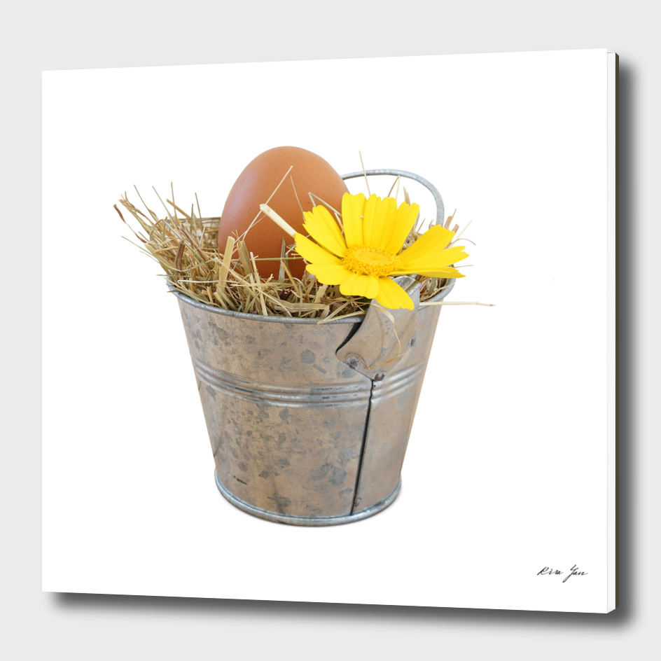 Happy Easter concept decoration object