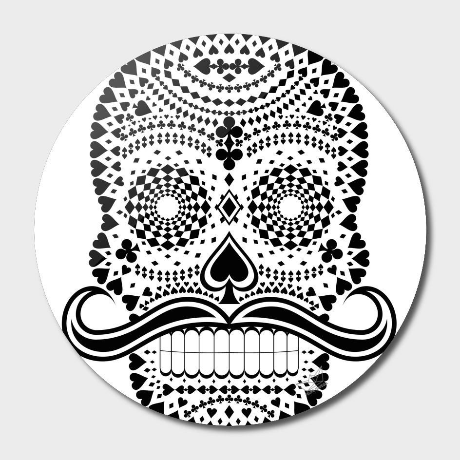 White Skull Black Suits