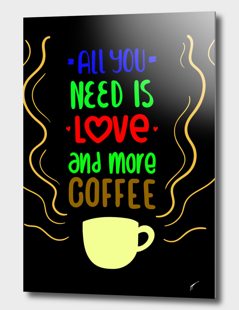 Quote Poster - 56 - Coffee