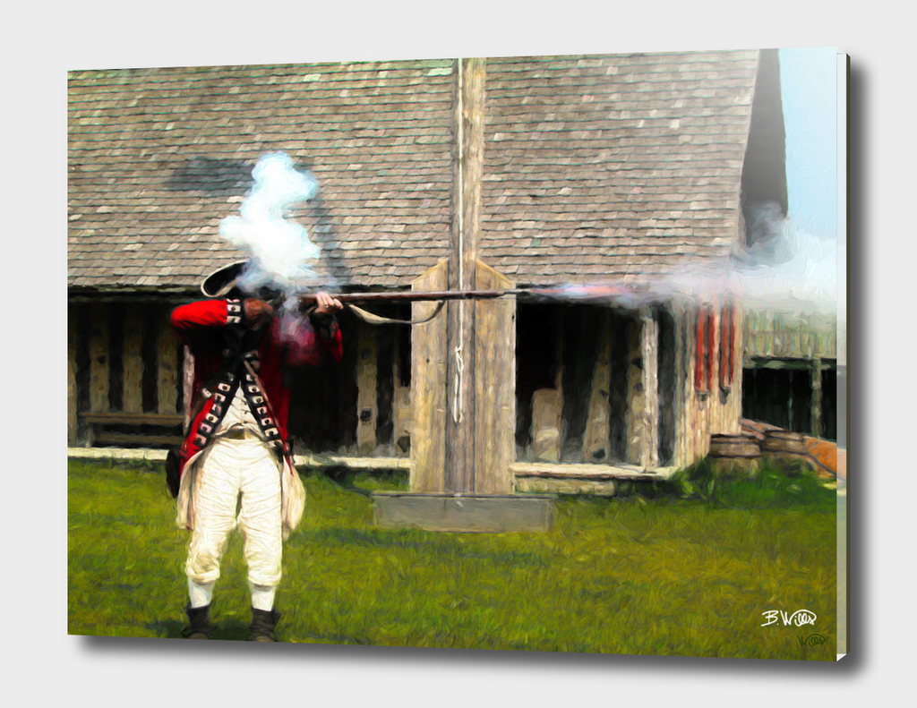 Fort Michilimackinac Soldier