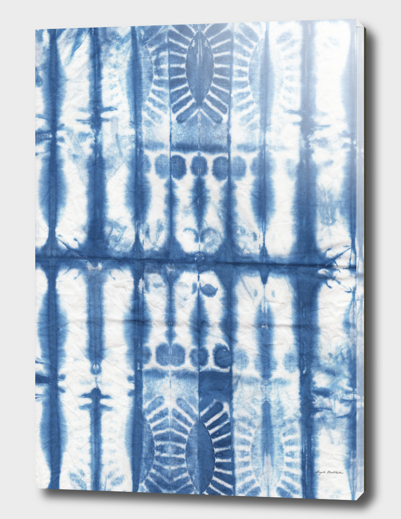 Shibori print #1