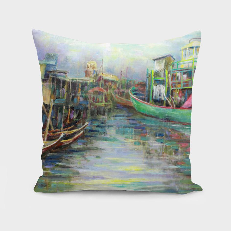 The Village River Boat