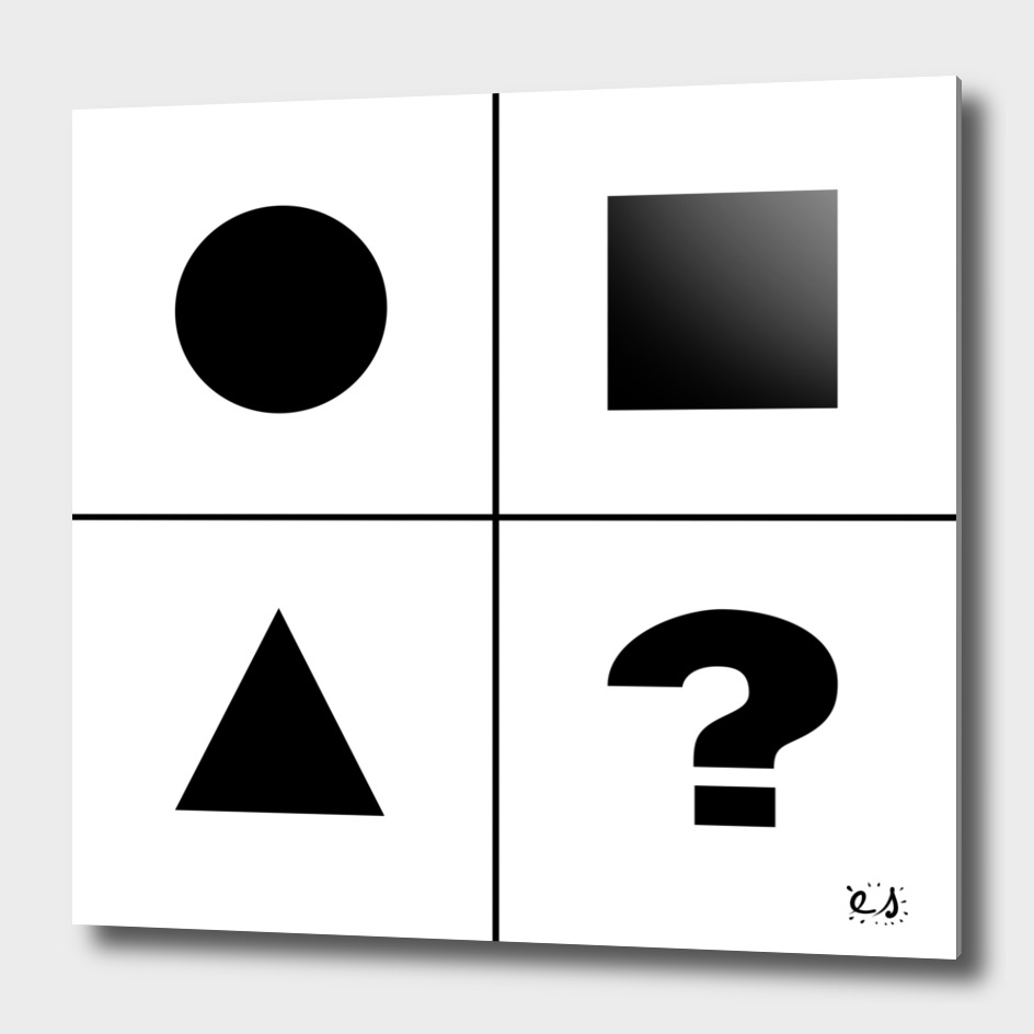 What's next ? Abstract Minimal Black and White Art
