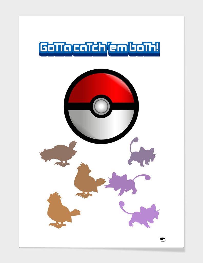 Gotta catch em both