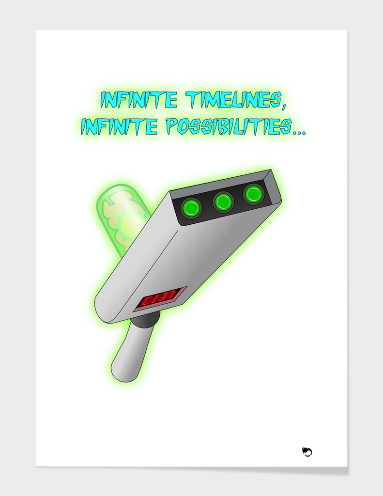 Infinite timelines, Infinite possibilities...