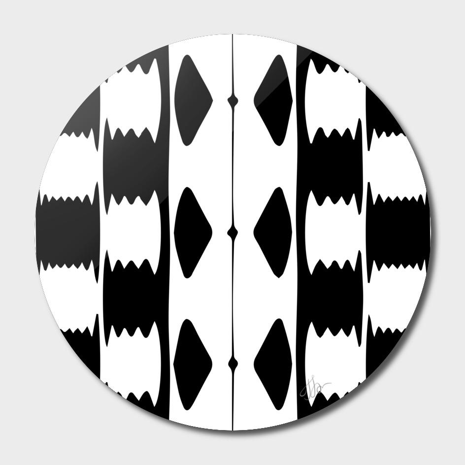 jagged checkers