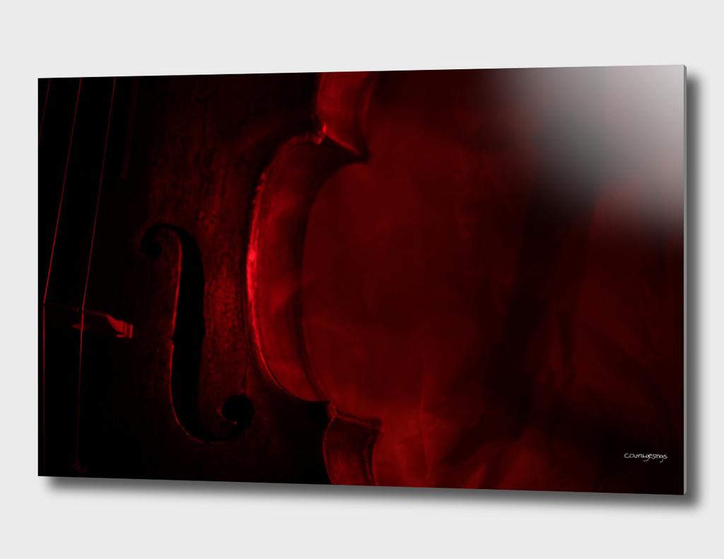 Violin (Red)