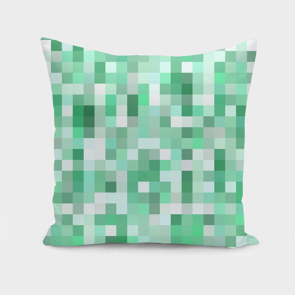Pixelation Pattern Green