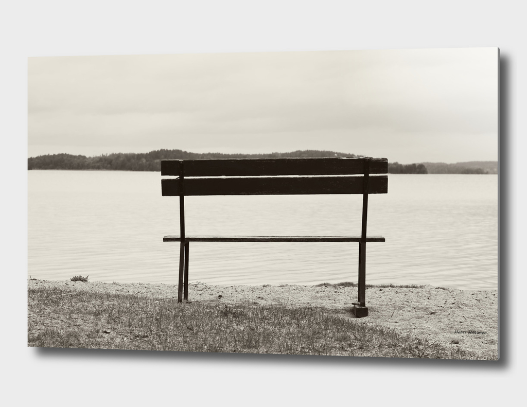 Bench by the lake 5
