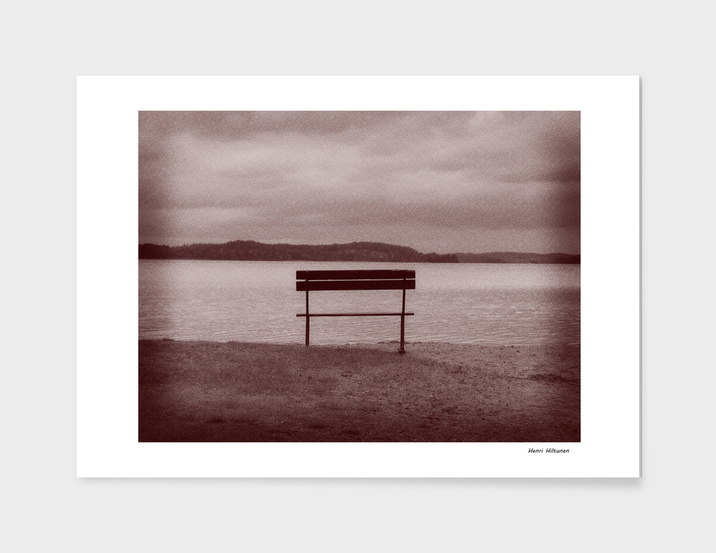 Bench by the lake 10