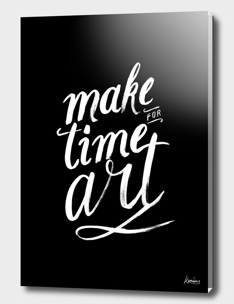 Make time for art
