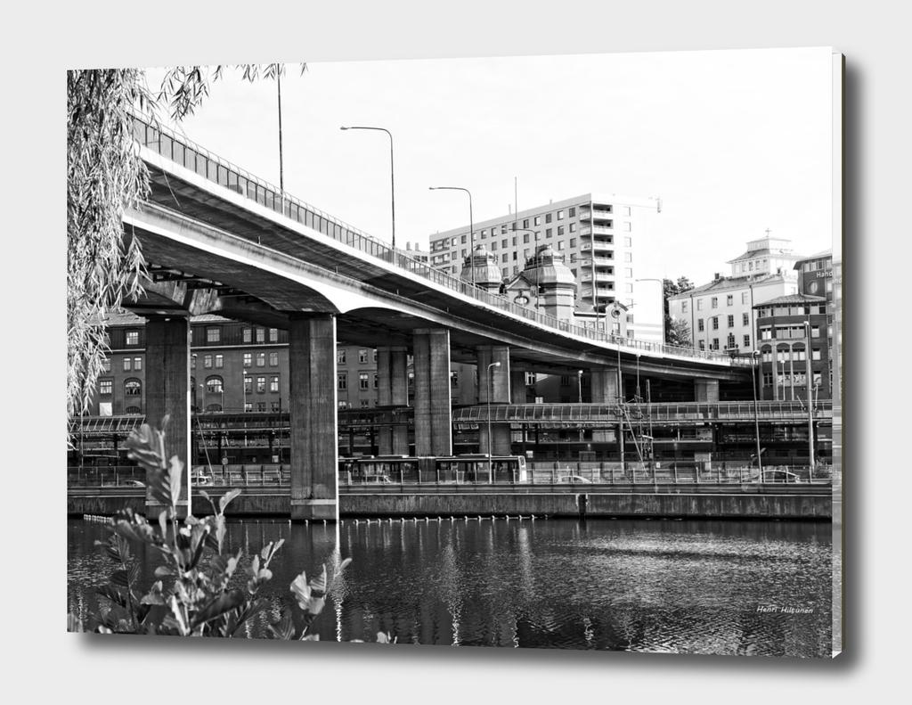 Bridge Barhusbron Stockholm 1