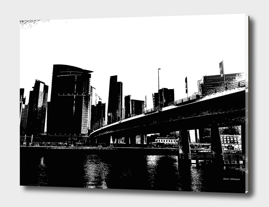 Bridge in Dubai 1