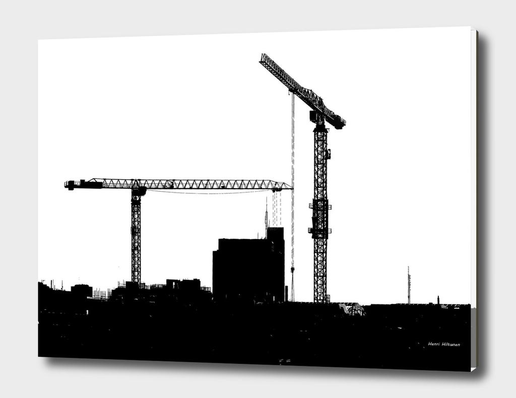 Cranes in the sky 1