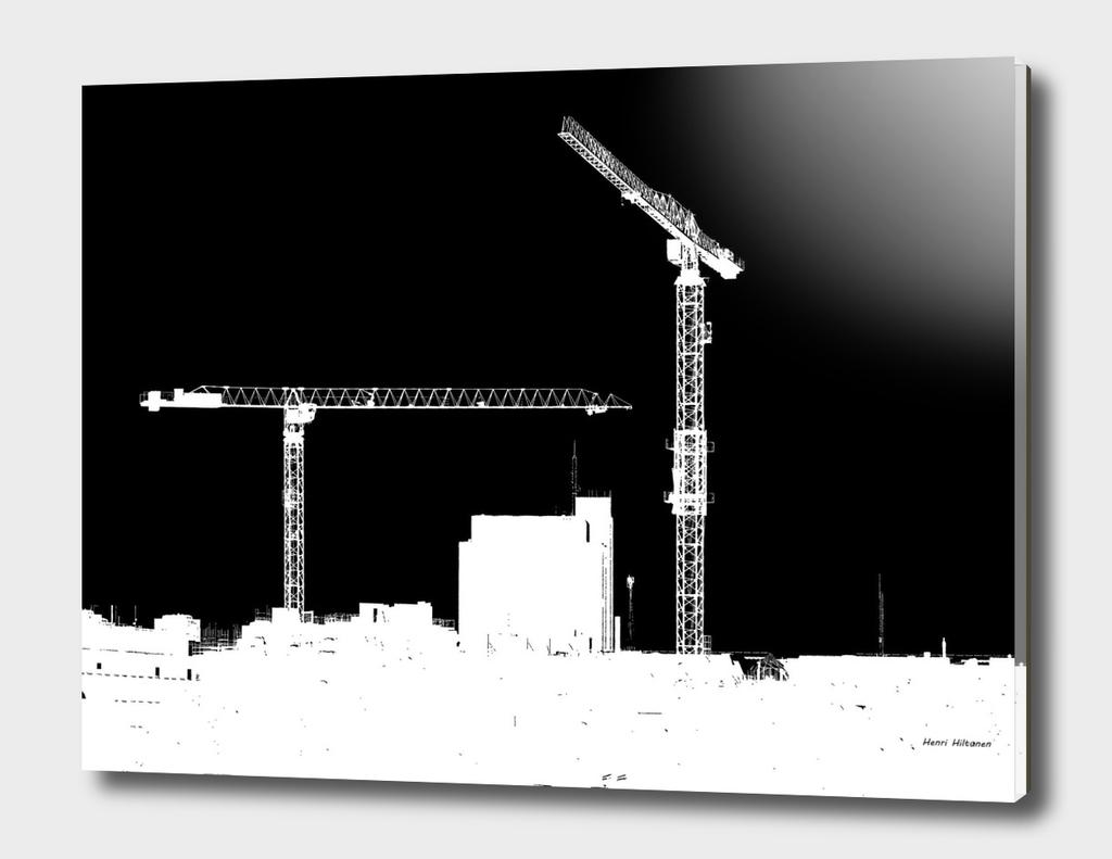 Cranes in the sky 2