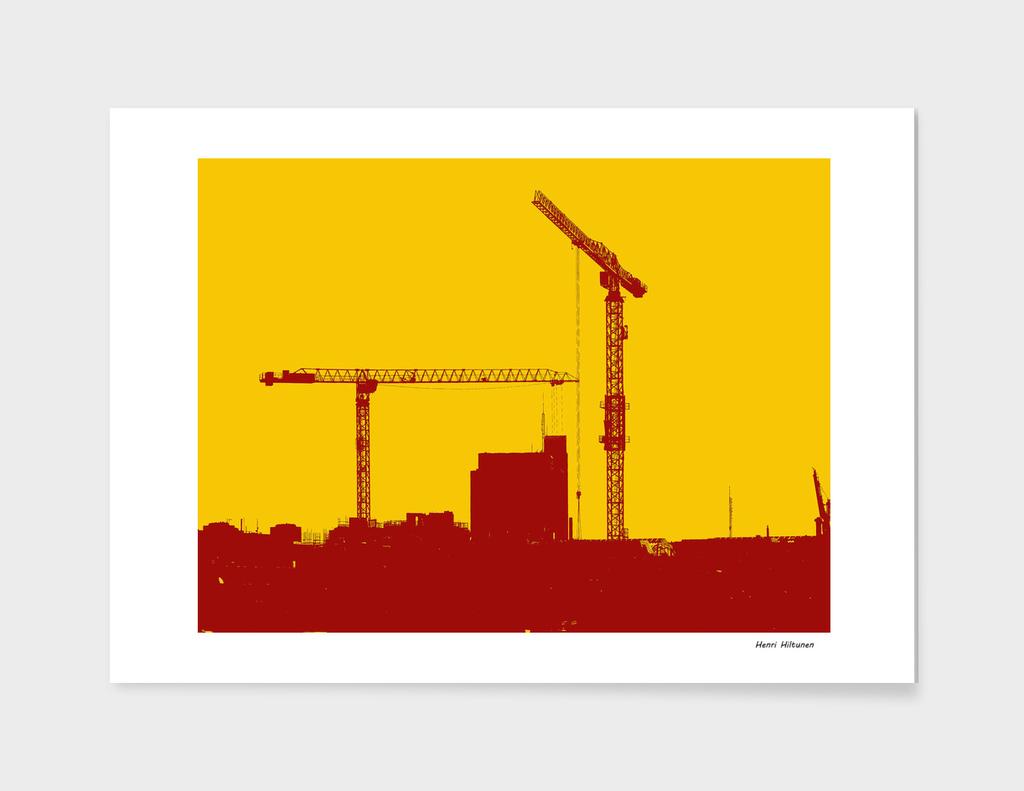 Cranes in the sky 3
