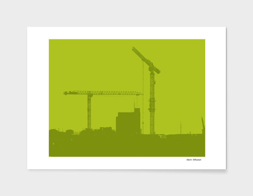 Cranes in the sky 8