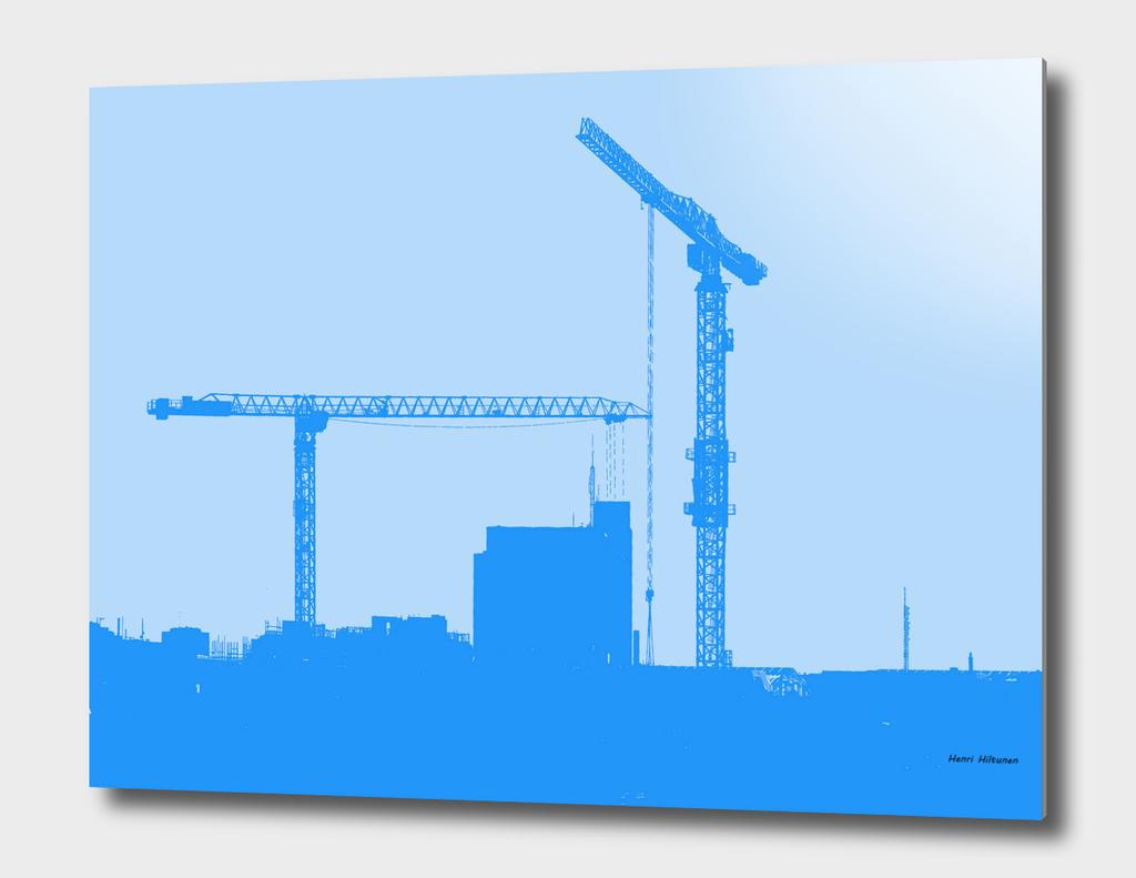 Cranes in the sky 9
