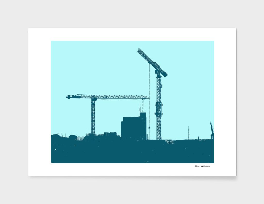 Cranes in the sky 10