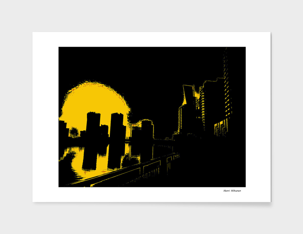 Dubai by night 4