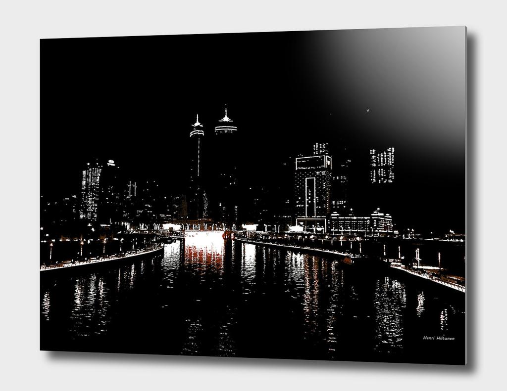 Dubai by night 5