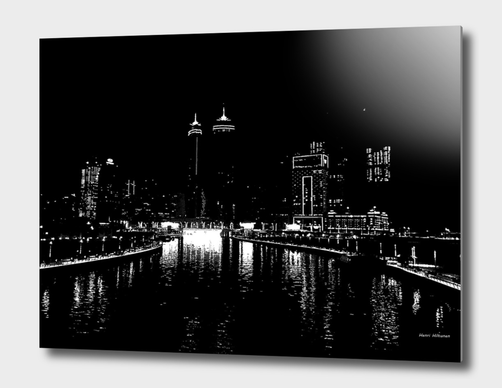 Dubai by night 6