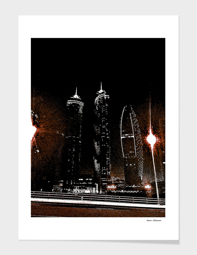 Dubai by night 7