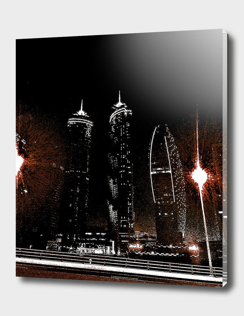 Dubai by night 7