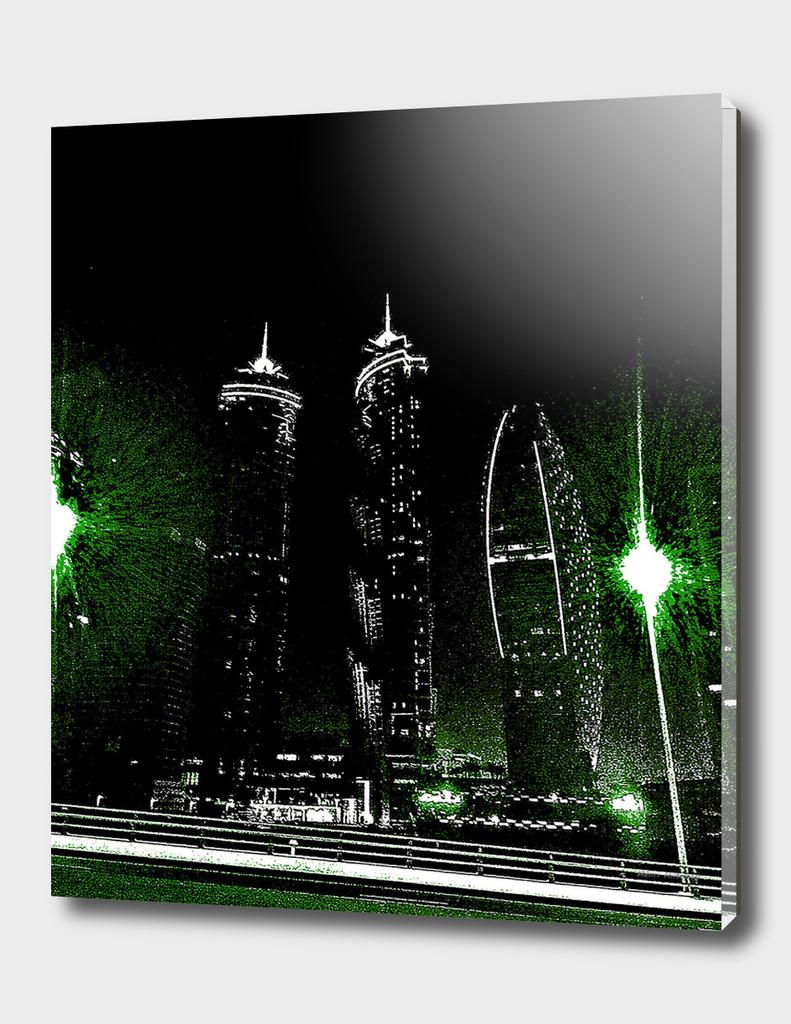 Dubai by night 8