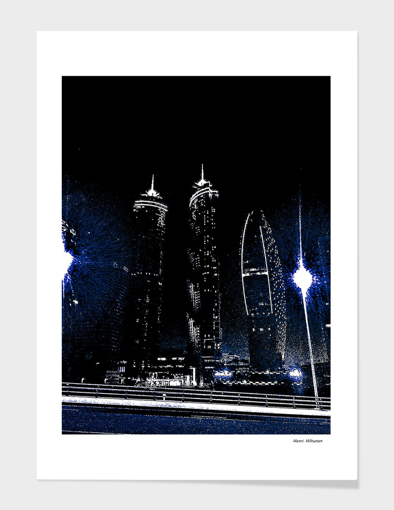 Dubai by night 9