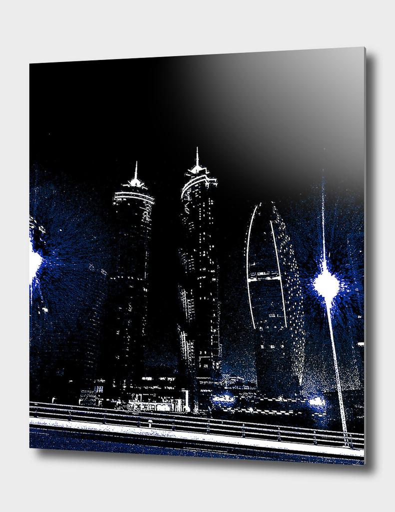 Dubai by night 9
