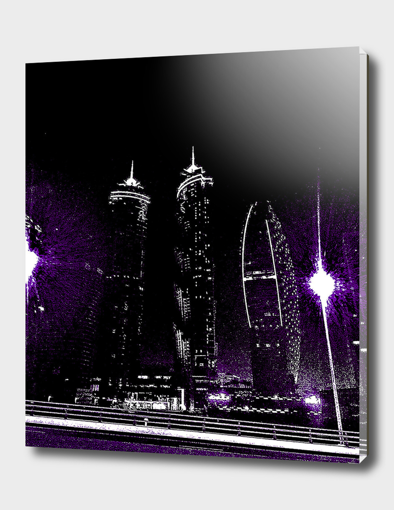 Dubai by night 10