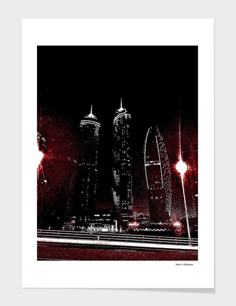 Dubai by night 11