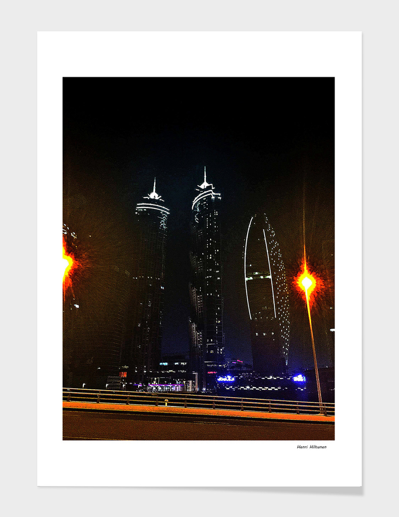 Dubai by night 12