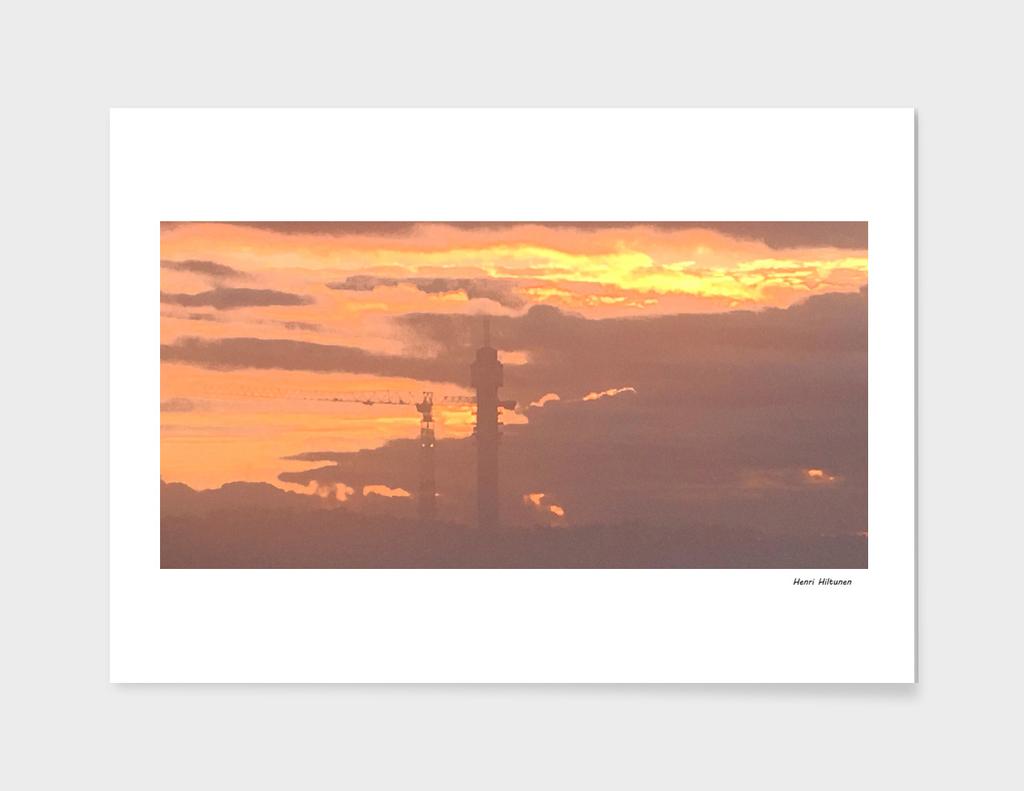 Sunrise in Stockholm 3