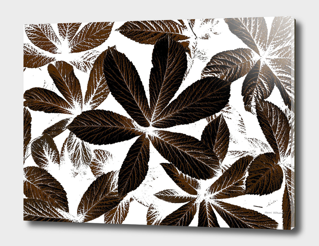 Leaves graphic 4