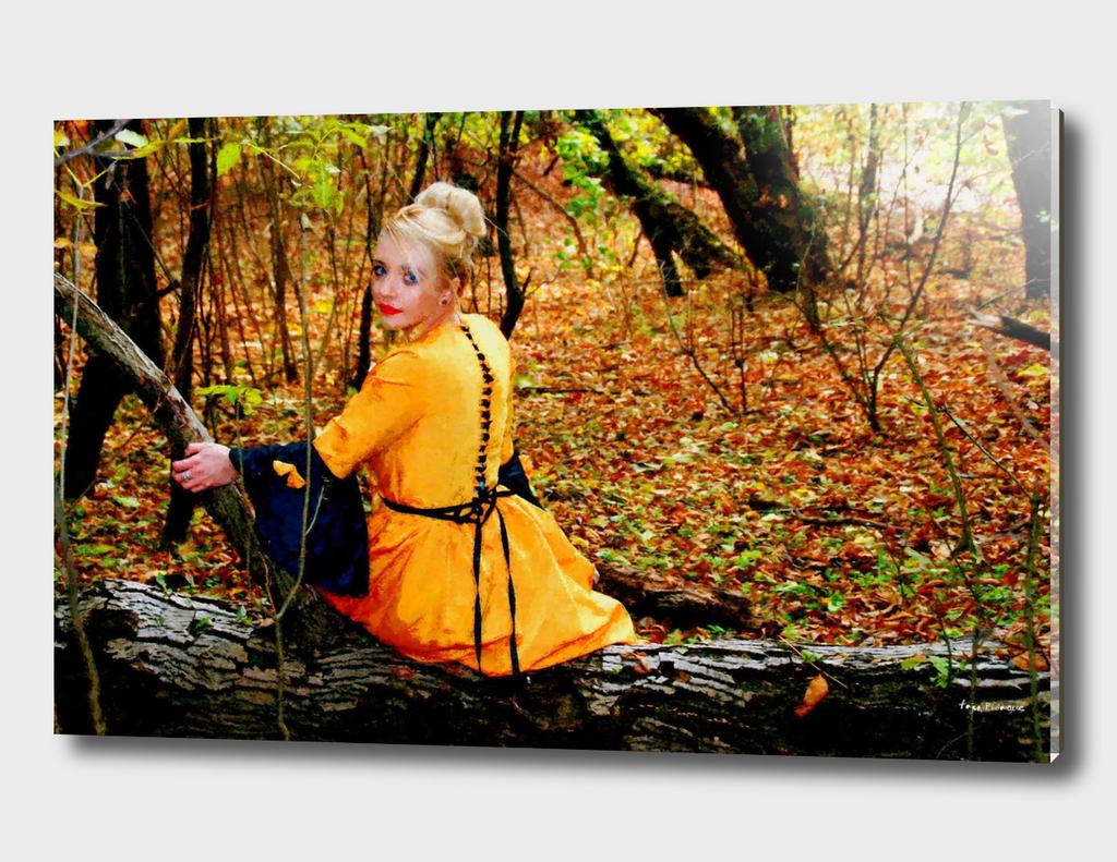 Girl in a Yellow Dress