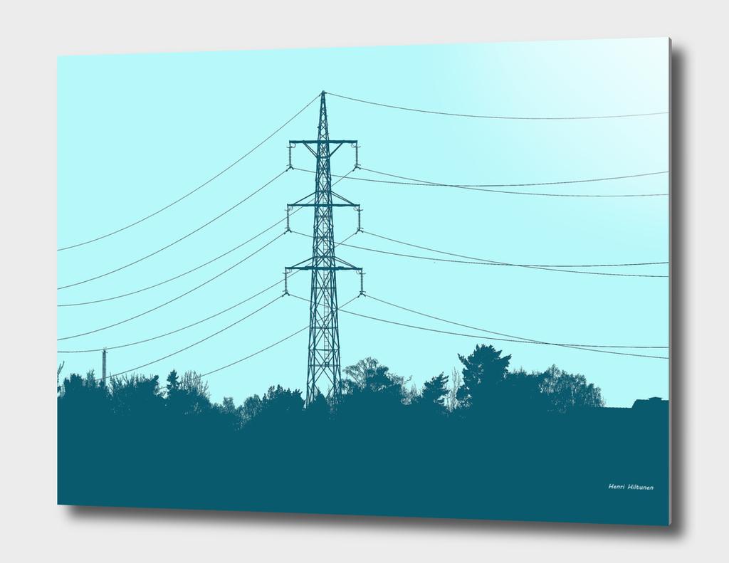 Power lines 8