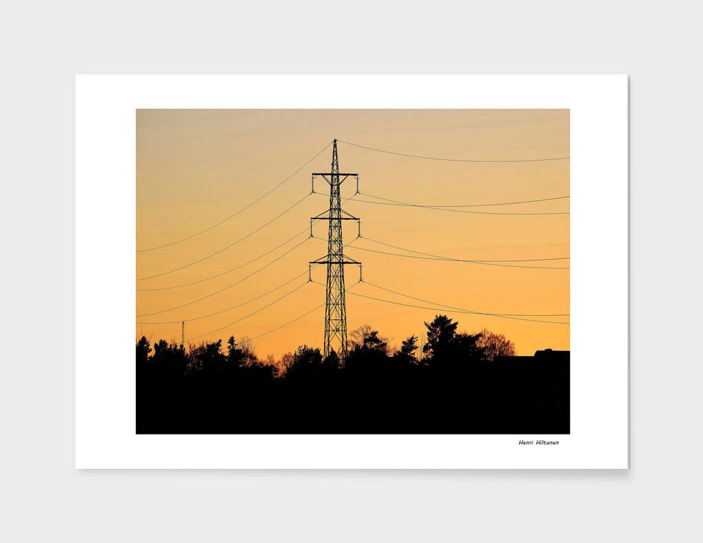 Power lines 10