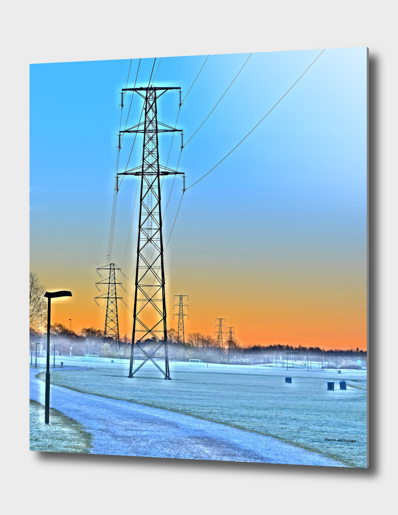 Power lines 13