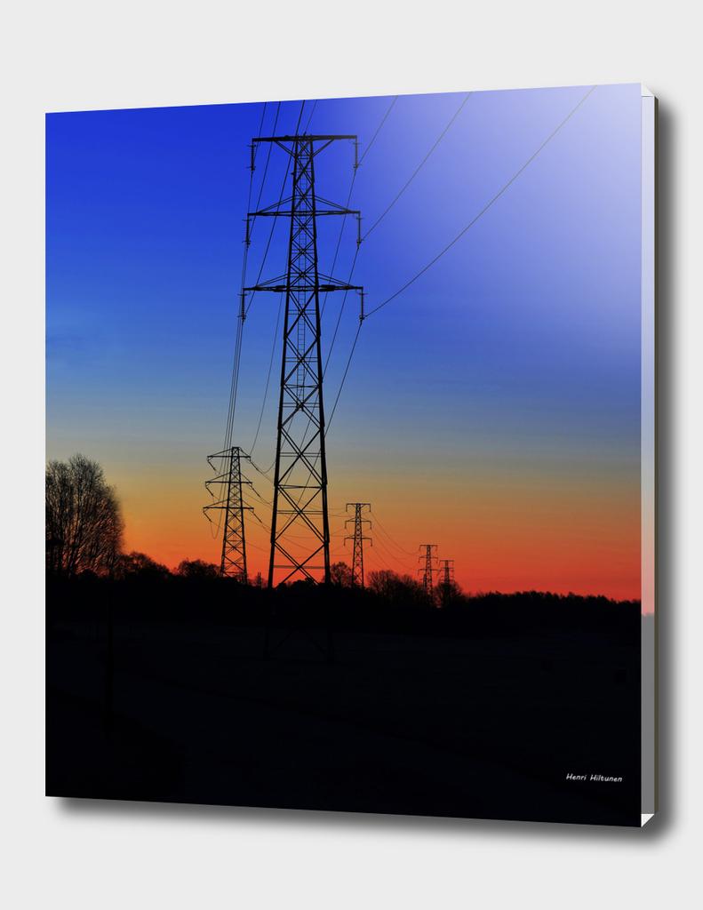 Power lines 15