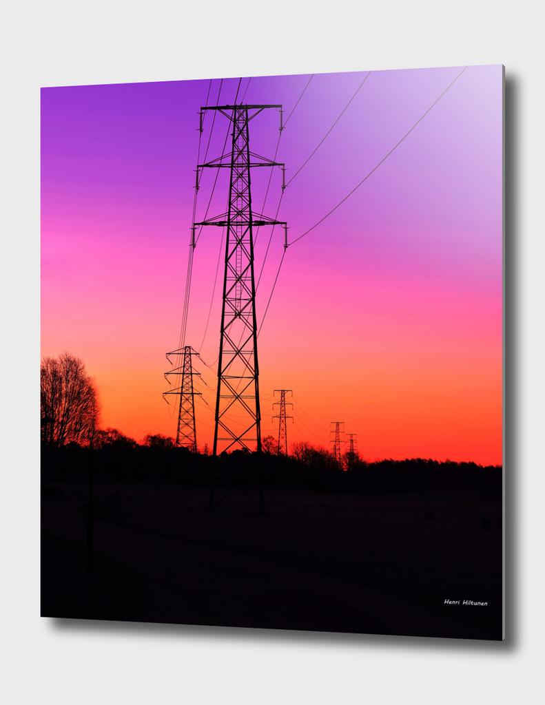 Power lines 18