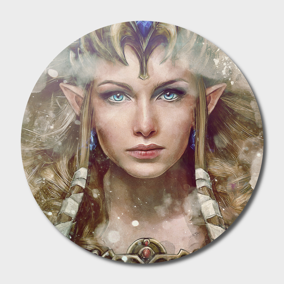 Epic Princess Zelda Portrait