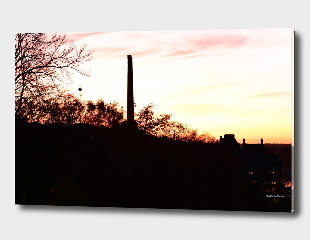 Sunset Södermalm Stockholm 3