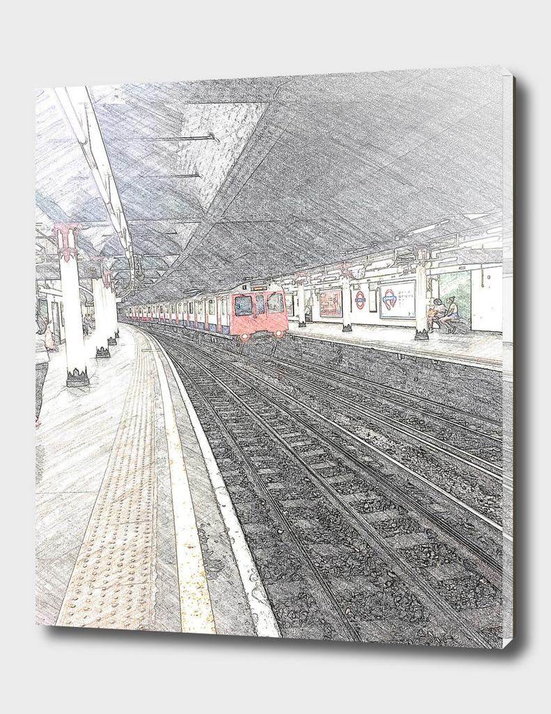 Temple Station London 1