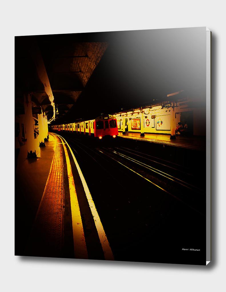 Temple Station London 2