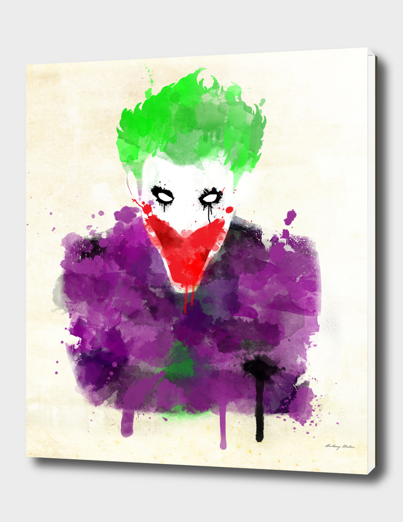 Joker Watercolor