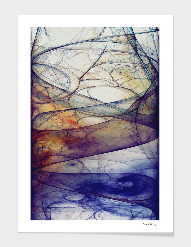 Abstract composition 103