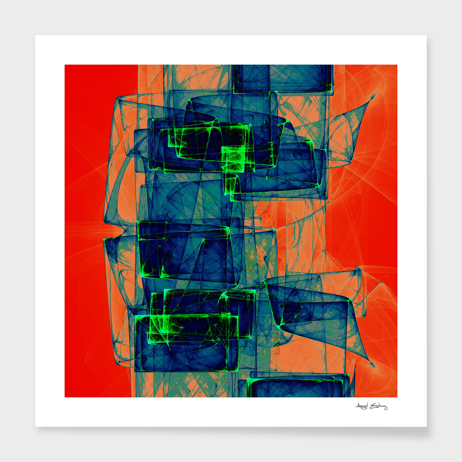 Abstract composition 189