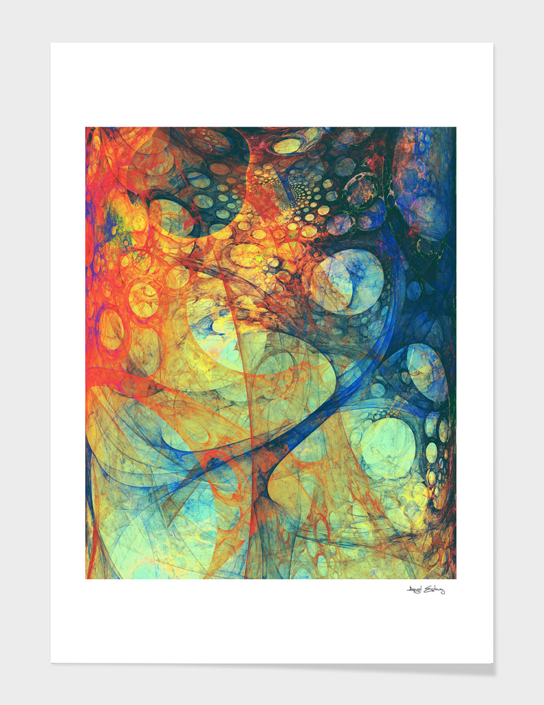 Abstract composition 188